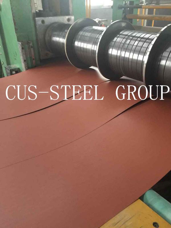 0.35*1000 Bolivia Matte Anti-Scratch Polyster PPGL/Wrinkled Prepainted Steel Coil/Matt PPGI
