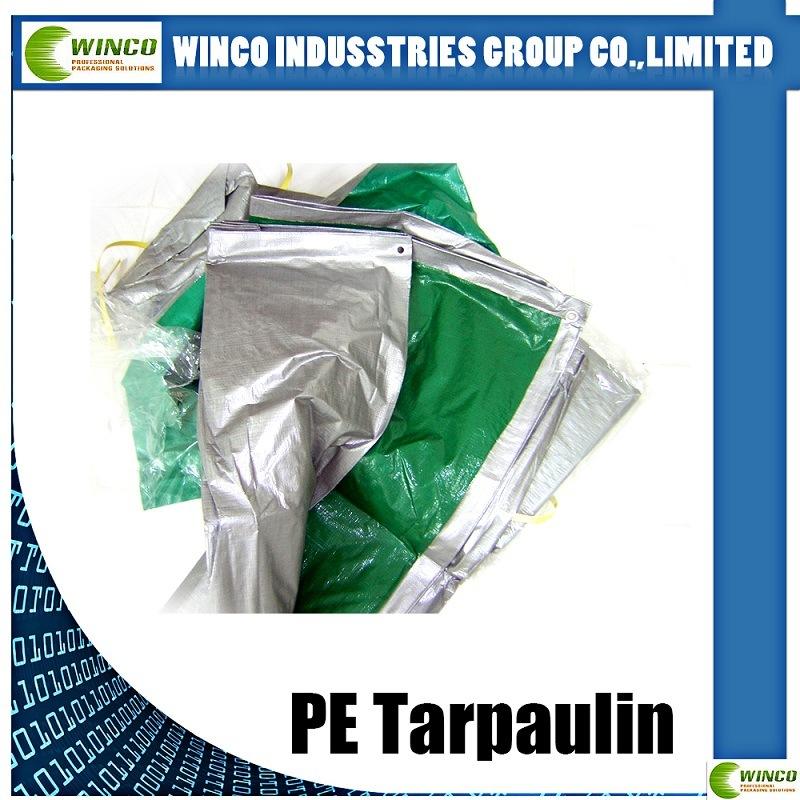 Hot Sale Waterproof Reinforced Readymade 6X12 PE Tarpaulin