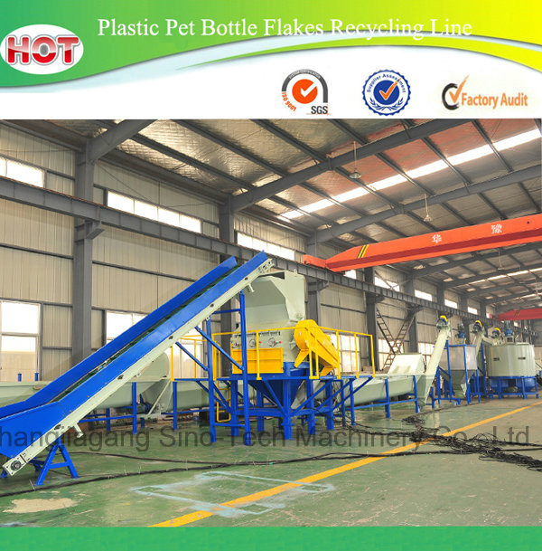 Waste Pet Plastic Bottle Recycling Production Line