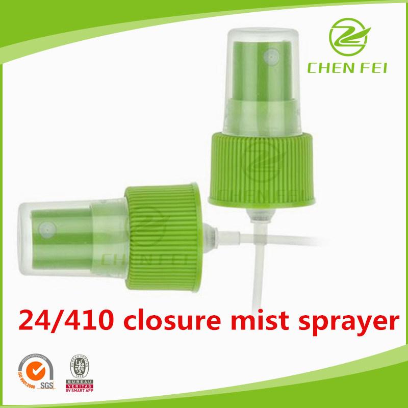 Ribbed Closure 24 410 Plastic Liquid Fine Mist Sprayer Pump