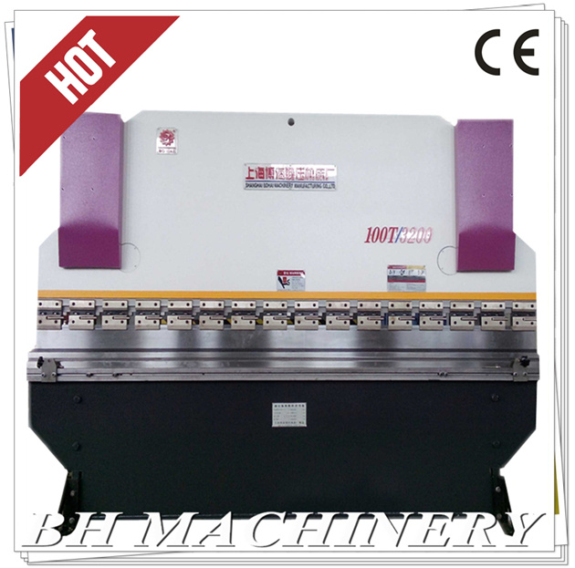 CNC Hydraulic Press Brake Wc67y 100t*3200 with Nc89/T10