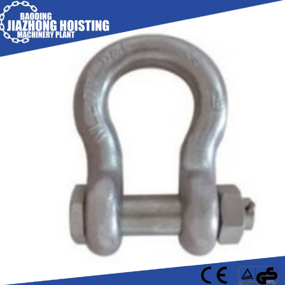Factory Supply Bolt Type Anchor Shackles