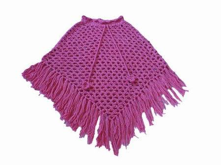 Free Crochet Patterns For Ponchos And Shawls : HAND CROCHET SHAWL ? Crochet For Beginners