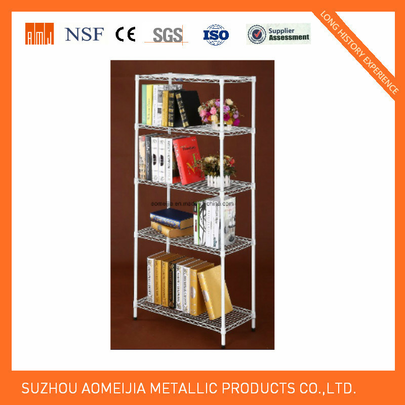 Amj Powder Coated Metal Wire Shelf for  Home Kitchen