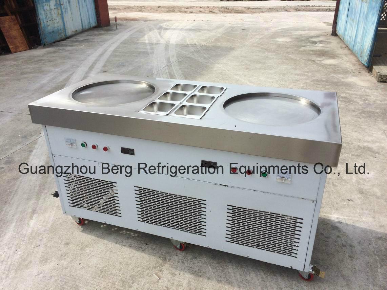 Wholesale Price Single Flat Pan Fried Ice Cream Machine