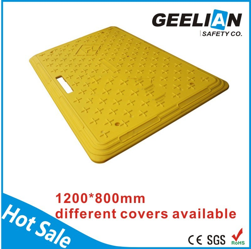 1800mm PP Plastic Walking Bridge / Plastic Trench Cover