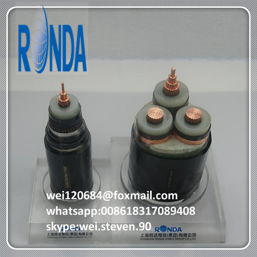 Underground 1.8KV 3KV XLPE Insulated Steel Wire Armored Power Cable