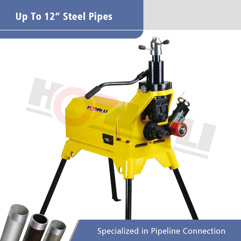 "Hydraulic Pipe Grooving Machine for Max 12"" Steel Pipe"