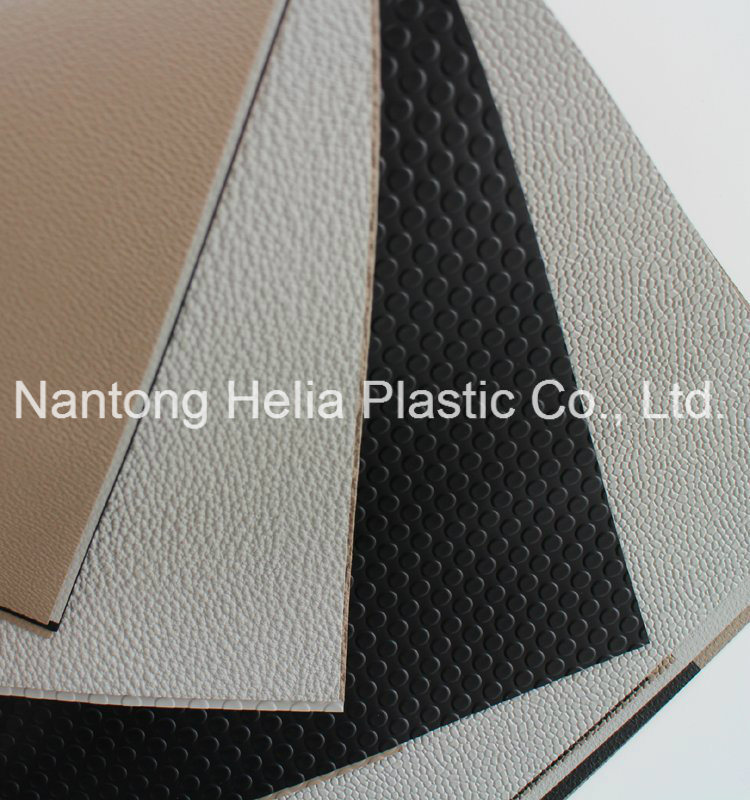 PVC Vinyl Embossed Sheet for Car Inner Decoration