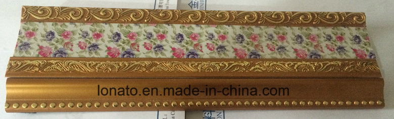 Hot Sell 9cm PS Cornice Moulding with Different Hot Stamping
