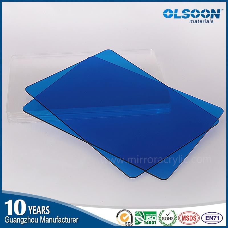 Olsoon Factory Direct Color PMMA Sheet/Acrylic Plastic Sheet/Clear Acrylic Sheet