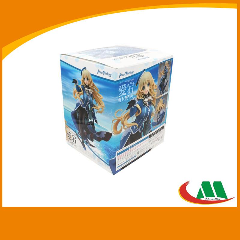 2016 Custom Cardboard Paper PVC Packing Box