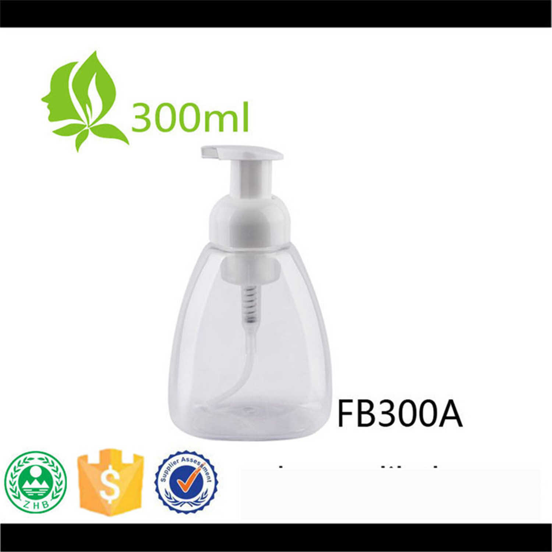 300ml Pet Neck 40 Foam Pump Bottle Soap Liquid Bottle