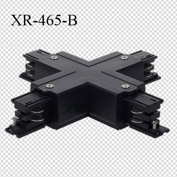Universal White/Black/Gray Three Circuits Track X Connector (XR-465)