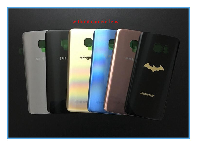 Mobile Phone Back Cover Glass Len Housing for Samsung S7 Edge G9300 G9350