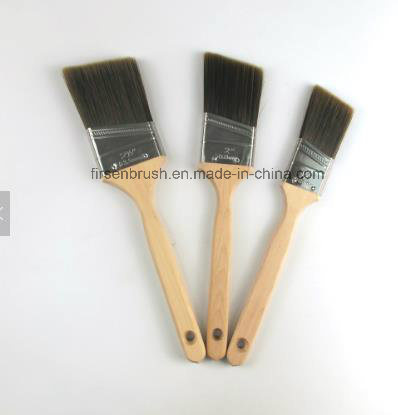 Angled Cut Paint Brush with Long Sash Hardwood Handle in Us Market