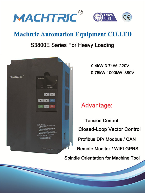 Vector Control AC Motor Drive for Elevator with Pg Card