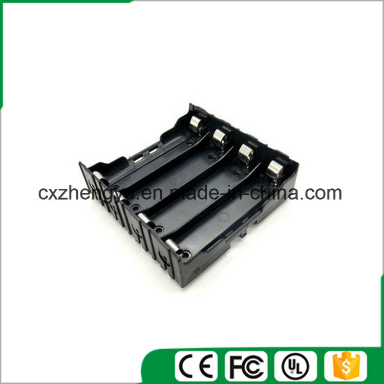14.8V/4X18650 Battery Holder with Contact Pins