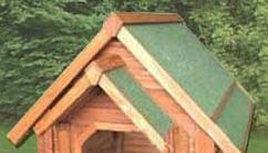 Fashion Pet Products Large Wood Dog House