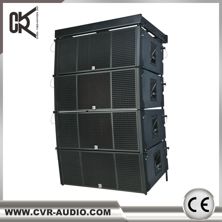 Active Dual 12 Inch Two-Way Line Array System 1400 Watt Big Outdoor Sound Equipment
