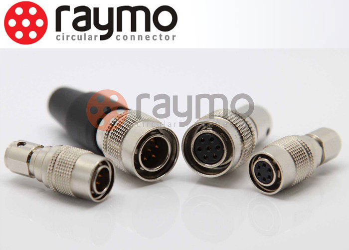 Raymo Alternative Hirose Connector Hr10A Series 4 Pin Circular Male Female Camera Pin Connectors Hr10A-7p-4p Plug
