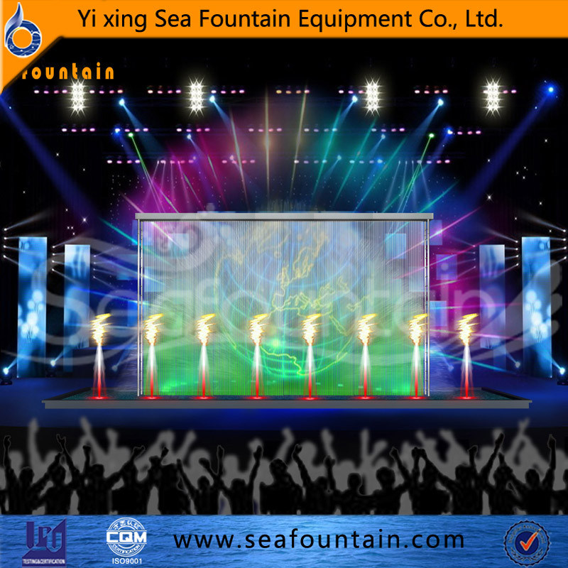 Outdoor Water Pool Water Screen Movie Multimedia Music Fountain