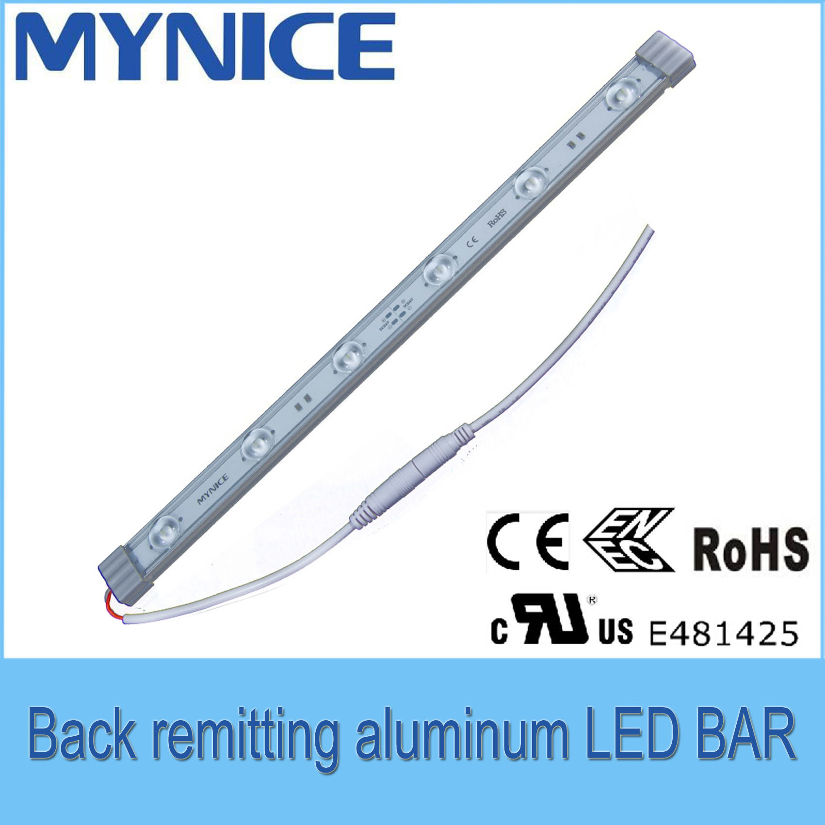Osram 3030 DC24V High Brightness LED Rigid Bar with Ce RoHS UL Certificates 3 Years Warrenty