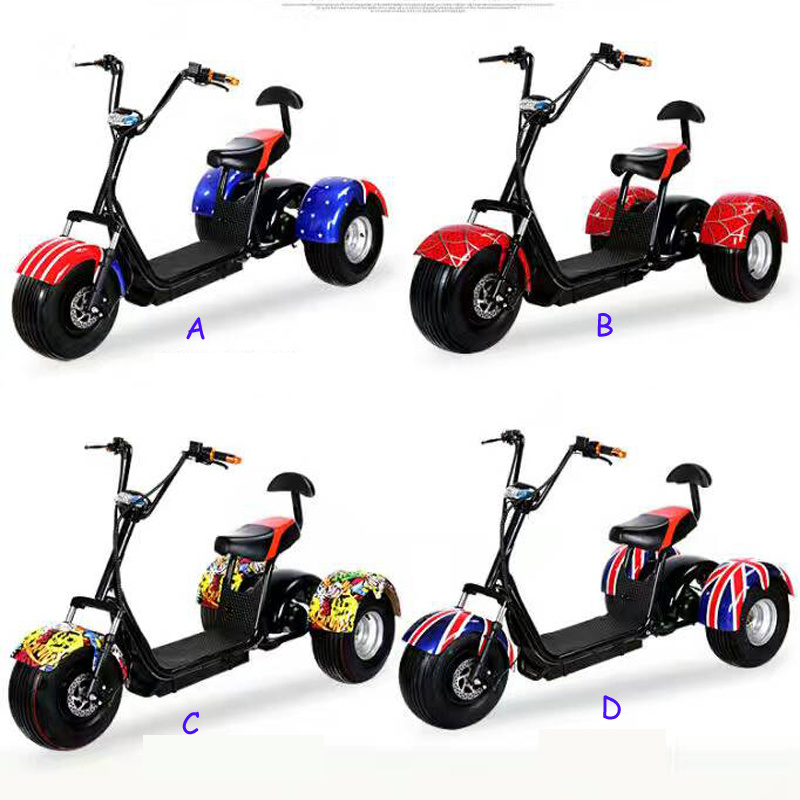 Electric Tri-Wheel with Ce