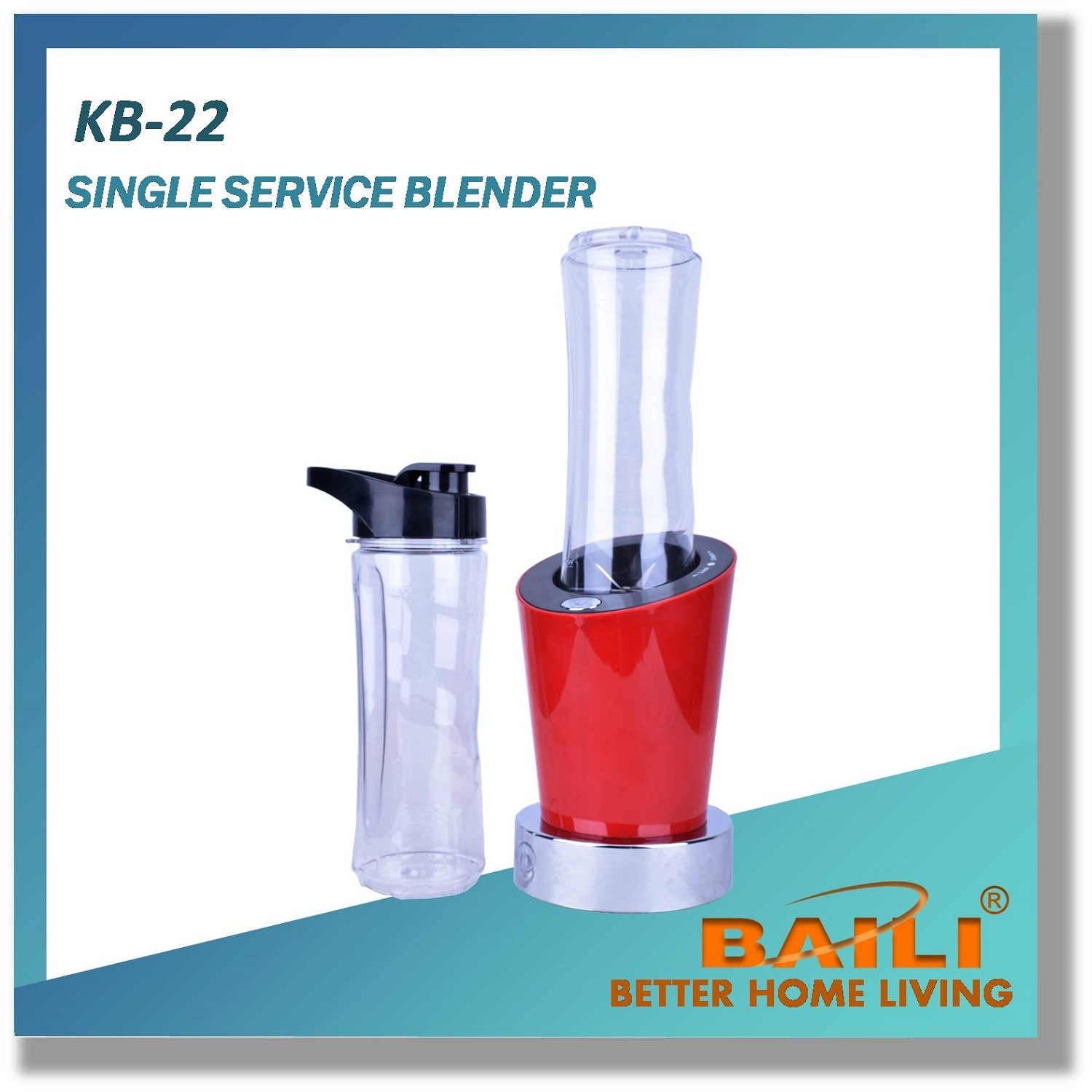 Single Service Electric Blender, Food Processor