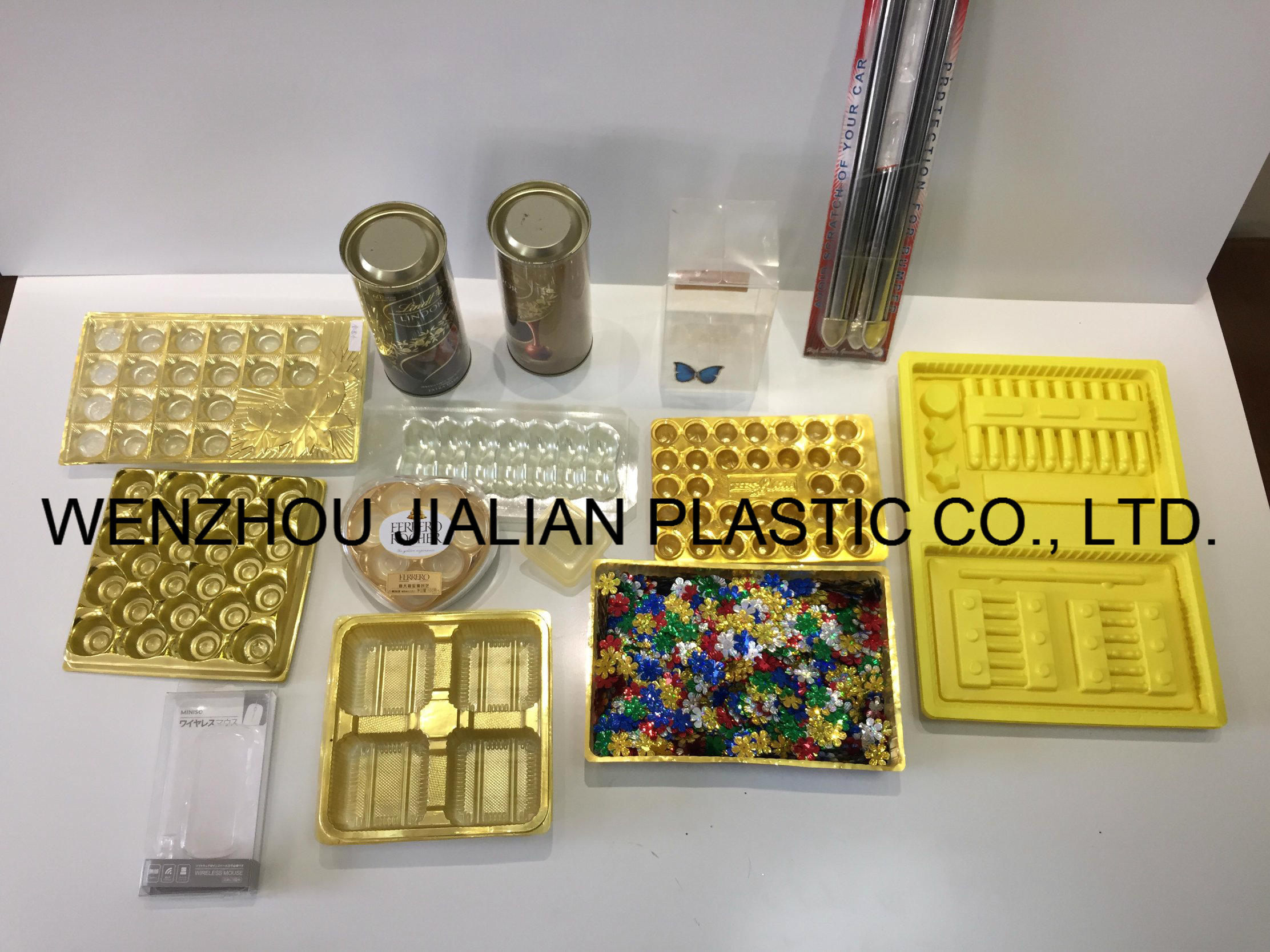 PVC Metalized Film /Gold PVC Film for Vacuum Forming