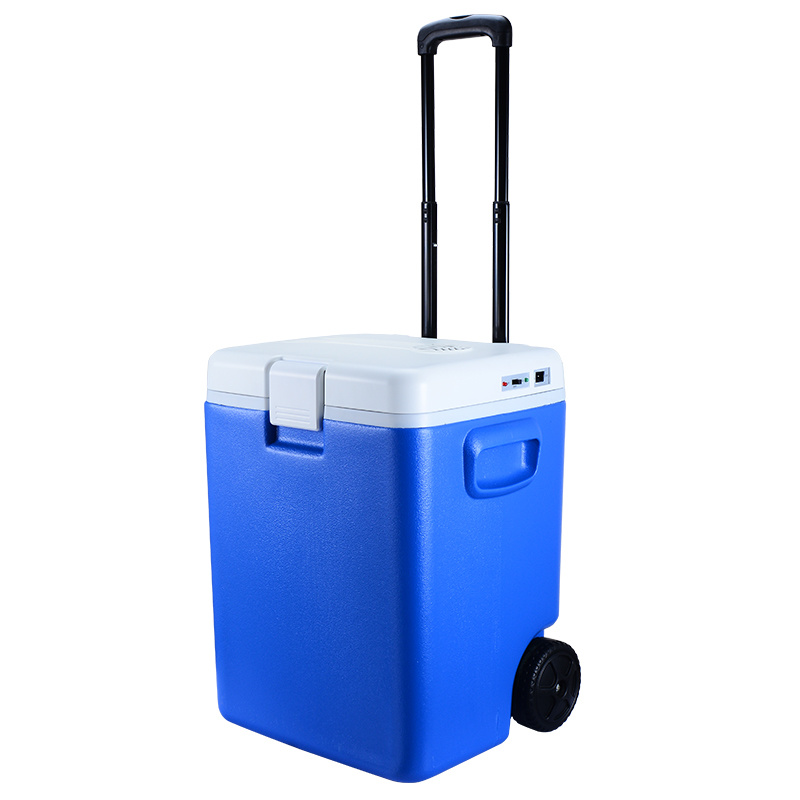 30L DC 12V Mini Portable Car Fridge with Cooling and Heating Function