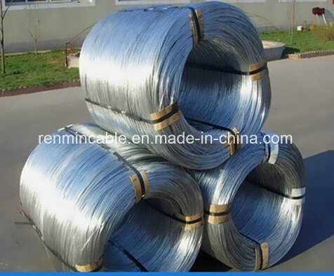 Hot-Dip Zinc-Plating Galvanized Steel Wire Strand (Guy Wire) for ASTM B363