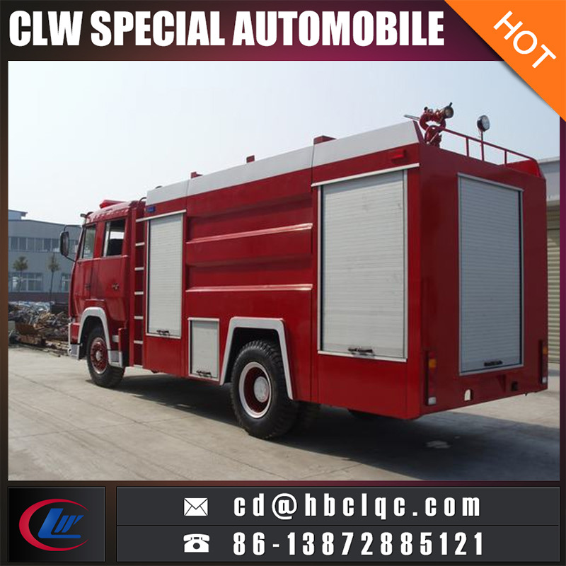 4X2 HOWO 7000L 10000L Fire Rescue Vehicle Fire Engine Vehicle