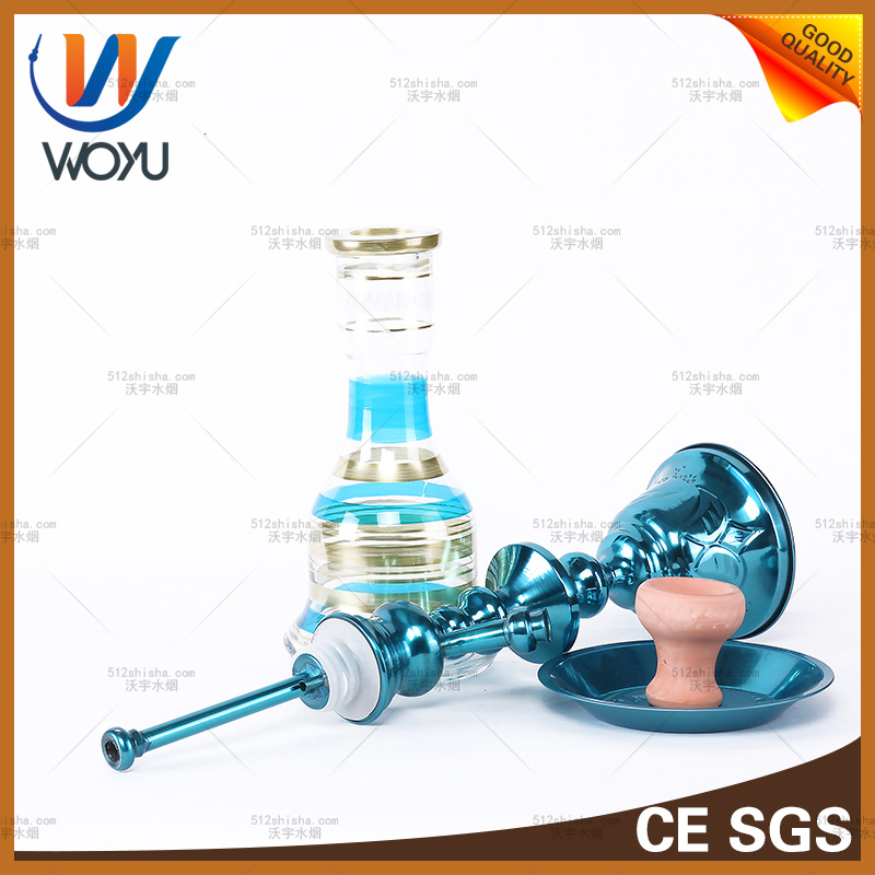 Hookah Shisha Nargila Pipe Smoke Bottle Glass Water Pipe