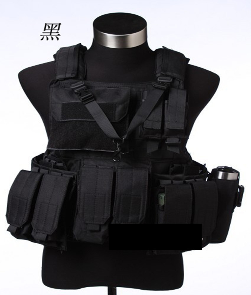 Military Classical USA Design Quick-Release Multi-Pockets Tactical Bullet-Proofvest