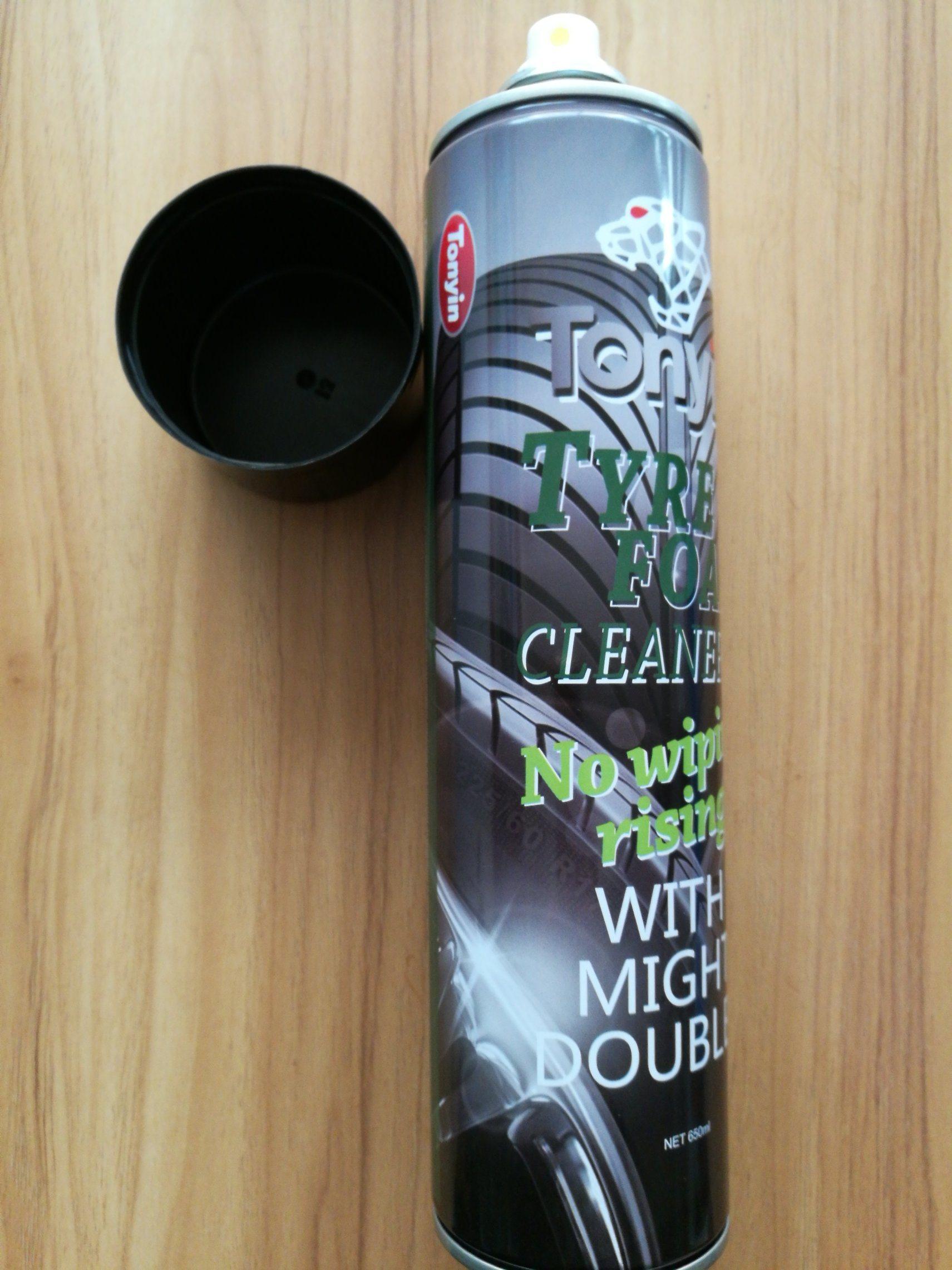 Car Care Tire Foam Cleaner in 650ml