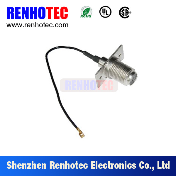 F Female Connector to SMB Plug Adapter for Cable Rg 179