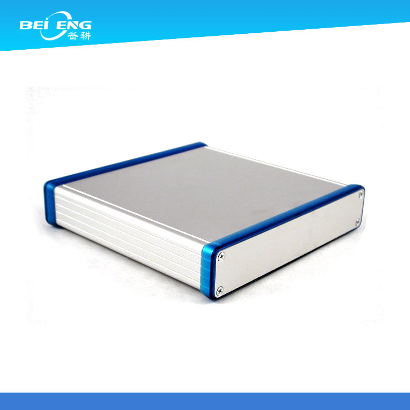 Aluminum Extrusion Electronic Enclosure with Anodized
