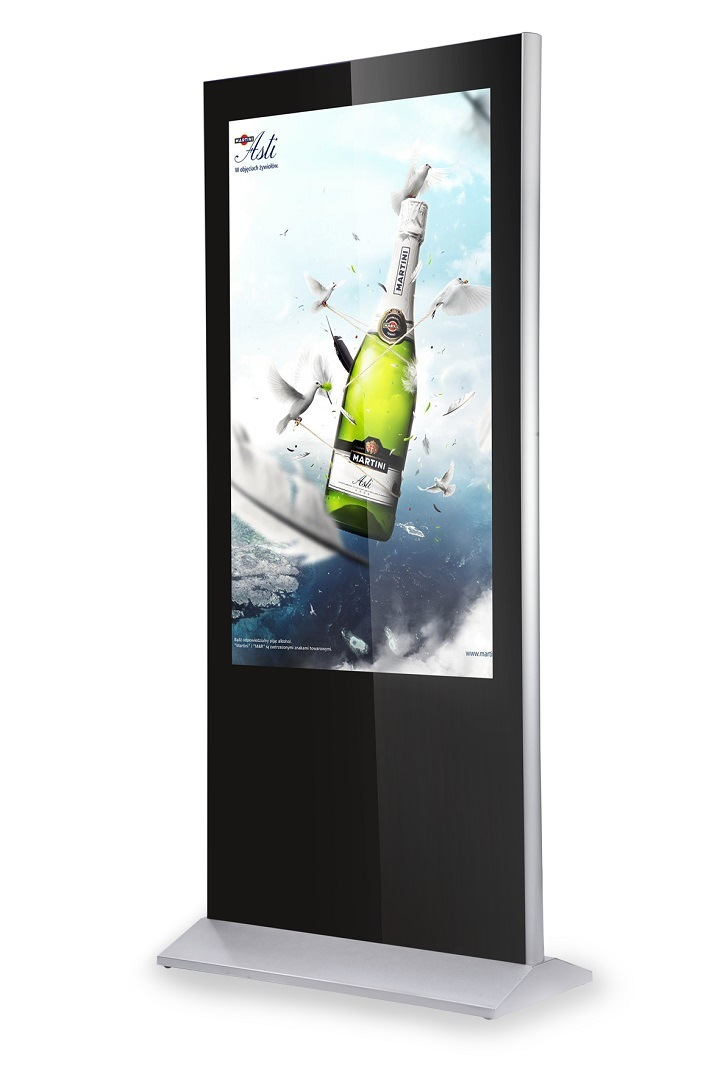 55inch Digital Signage Kiosk with Auto Loop Media Player