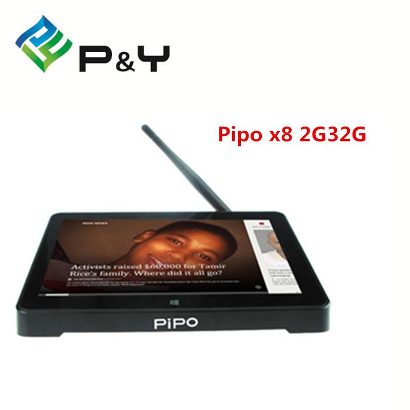 "Original Pipo X8 Mini PC TV Mini PC TV Box Intel Z3736f Quad Core Win+ Android Dual Boot 7"" 1024 X 800 2GB RAM 32/64GB ROM"