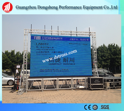 289mm*289mm Aluminum Spigot Event Truss for Hanging LED Screen