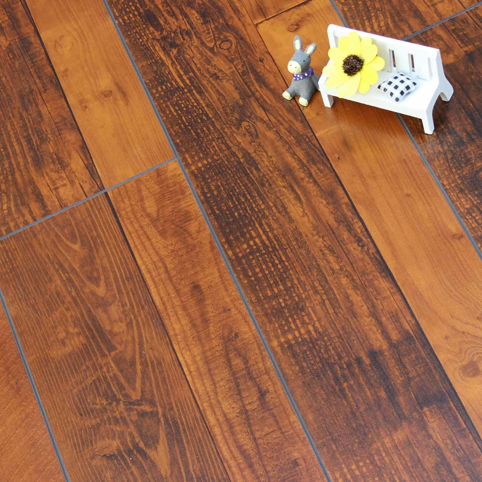 Design Modern Style Laminate Flooring AC3/ Laminate Parquet Flooring