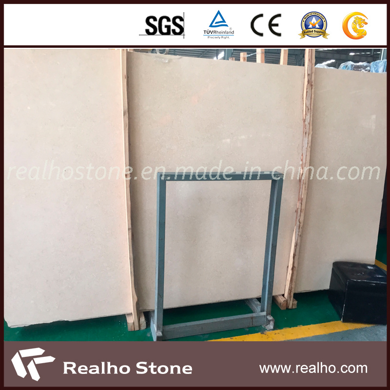 Own Factory Natural New Cream Marfil Beige Marble for Flooring Tile