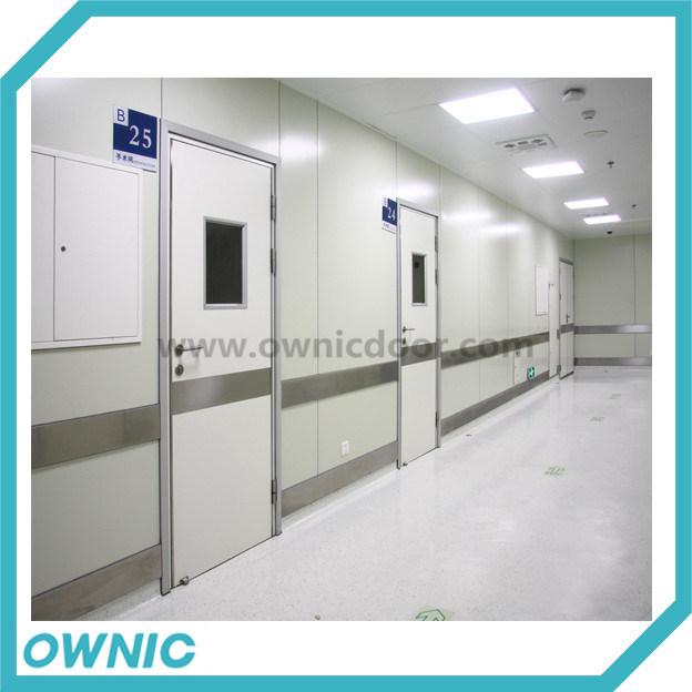Single Leaf Swing Door Manual Open for Hospitals