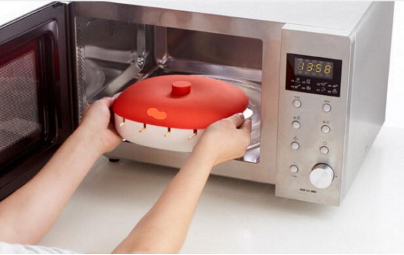 Food Grade Plastic Silicone Microwave Brochette Box