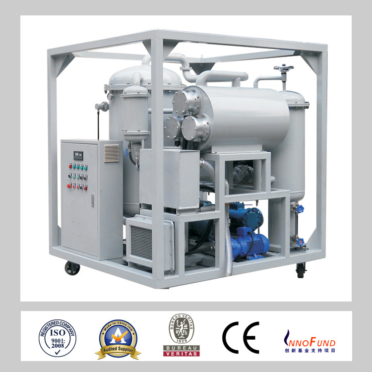 Multi-Functional Vacuum Oil Purifier for Steam Turbine Oil