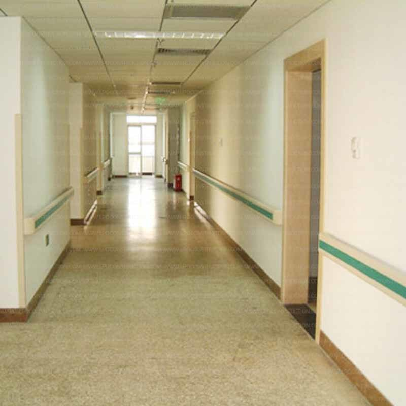 ABS Plastic PVC Hospital Corridor Medical Handrail