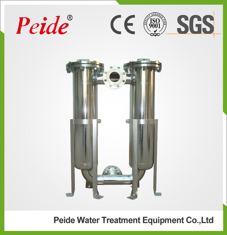 304 Stainless Steel Industrial Liquid Bag Filter Housing