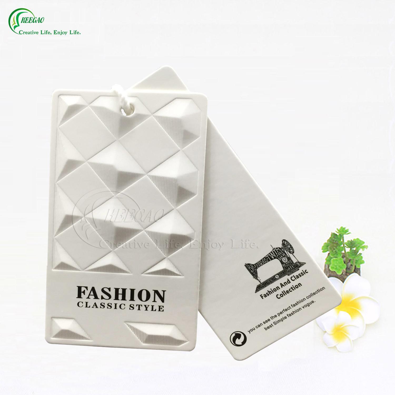 Custom Printing Paper Clothing Label (KG-PA010)