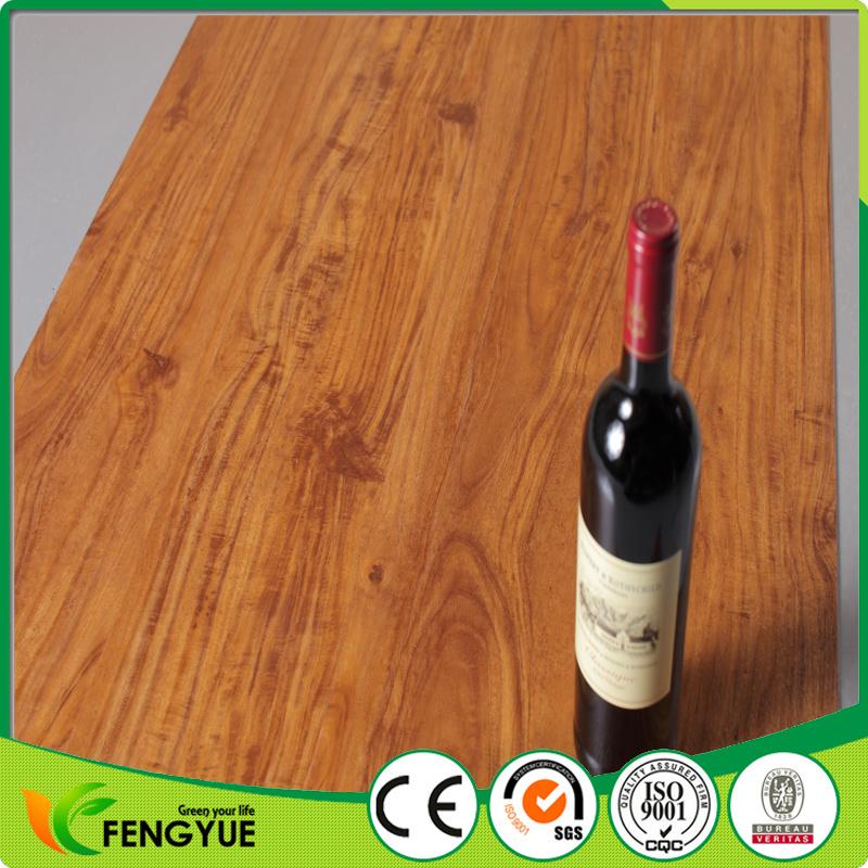 High Glossy Bevelled Edge Click PVC Flooring